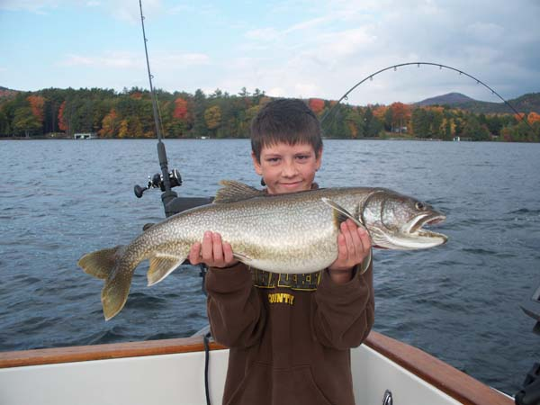 Rod bender charters fishing lake george ny for Lake george fishing charters